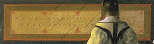 Jan Vermeer - La lezione di musica
