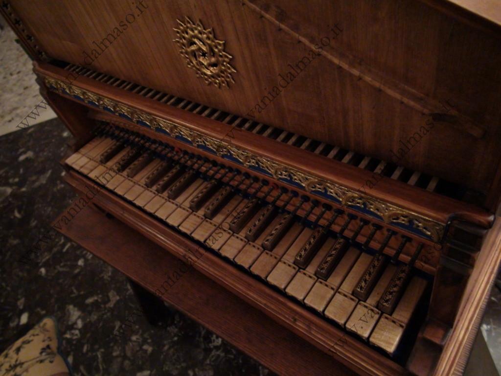 Tastiera del claviciterio